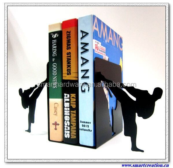 NINJA metal book stand metal bookends decorative book stand