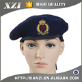 100% wool pure color original male army beret