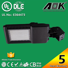 High Lumens Excellent Quality square parking lots 150w led area luminaire from direct manufacturer