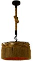 New Products Creative America Hemp Rope Industrial Design Lamp Pendant With Edison Bulb
