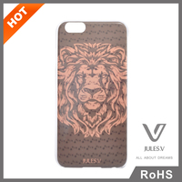 high quality newest brown lion pattern animal 3d phone case
