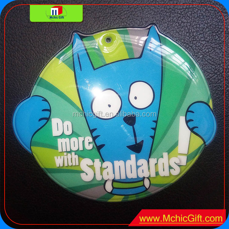 New brand customized colorful shape Metro card holder for EZ-Link card