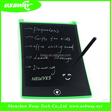 Promotional gift unique lcd writing tablet board for kids language learning magic led write glow board