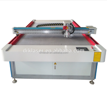 CNC Vibrating Knife CE FDA / knife Cutting Machines oscillating knife cutting textile cloth machine