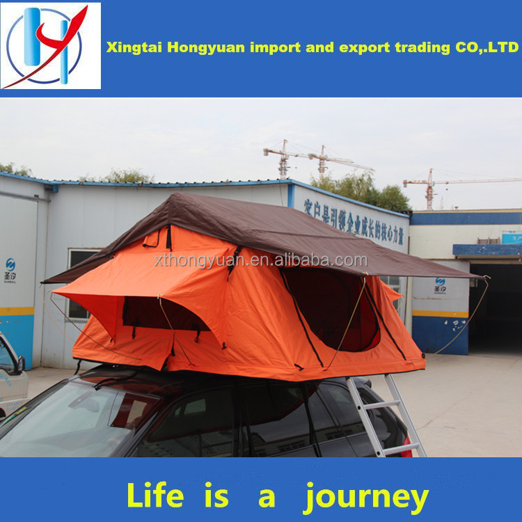 nature hike double tent cot aluminium alloy pole car roof tent for events shelter
