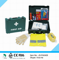 Durable Emergency Car First Aid Kit With Safety Vest