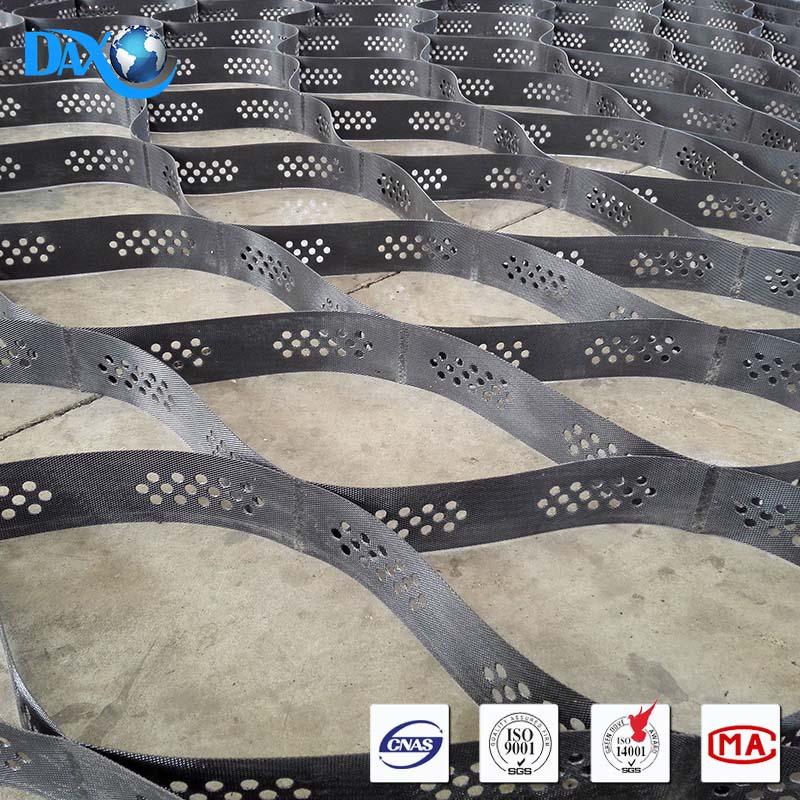 Excellent Stabilization Performance Plastic Grass Grid