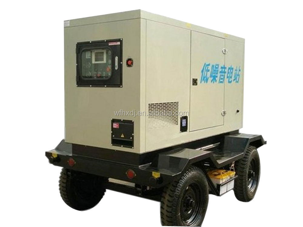 Hot sale 220-2000 kva mobile generator set with CE