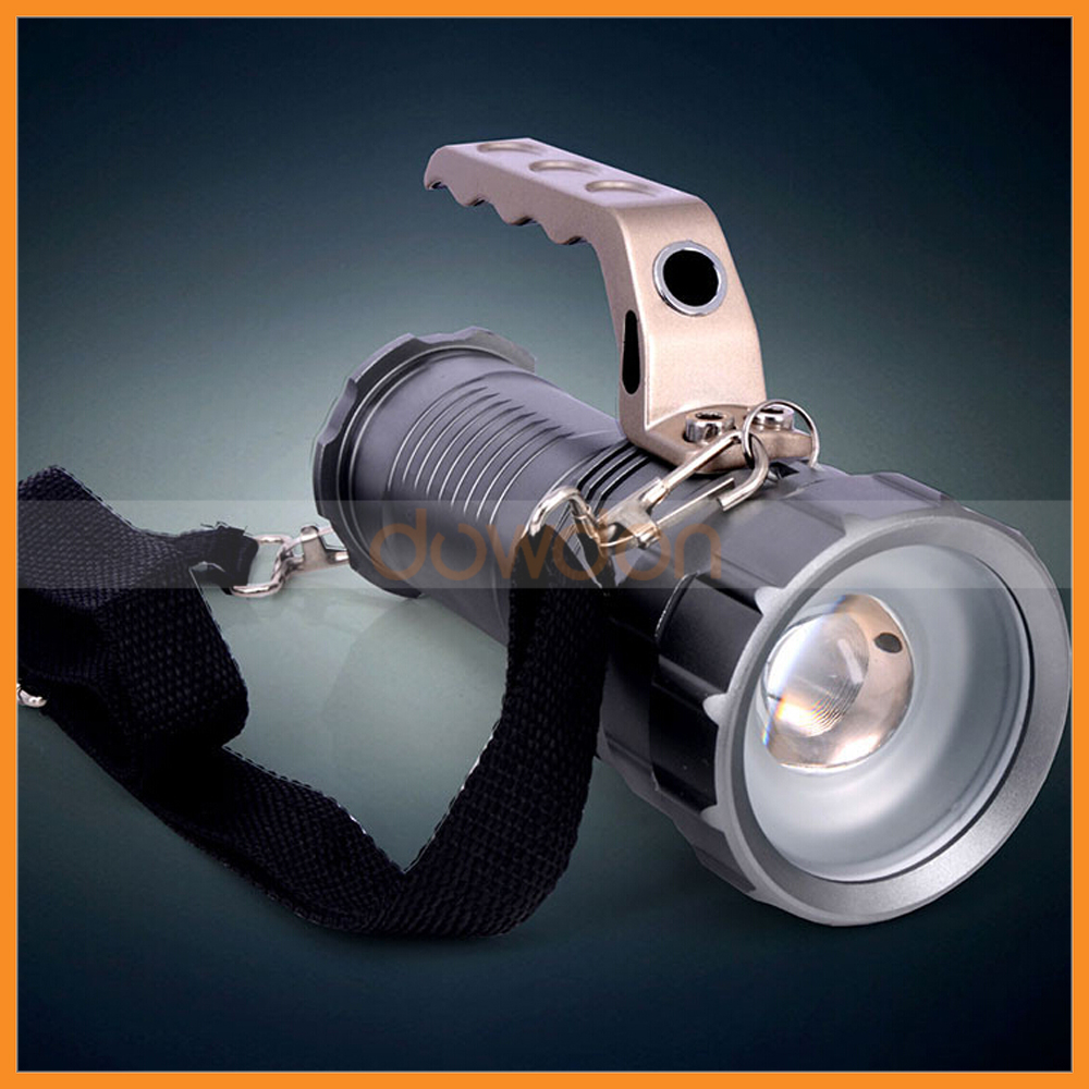 Lantern Cree LED 10W XML T6 Mining Flashlight 3 Mode Focus Adjustable 1000LM Searchlight