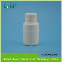 High quality factory sale Plastic PE pharmaceutical pill bottle with child resistant cap