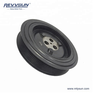 REVVSUN Auto Parts 9C1Q6B319AA 1727140 9C1Q6B319AB 1708966 Crankshaft Pulley For Transit