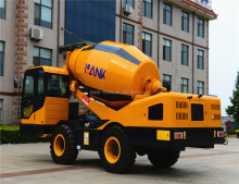 self loading trailer mounted concrete mixer for sale truck mounted concrete mixer