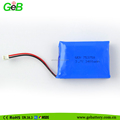 753750 3.7V 3400mAh rechargeable lithium polymer battery