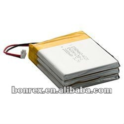 Lithium Polymer Battery - 3.7V 6000mAh with connector and PCM for Robot