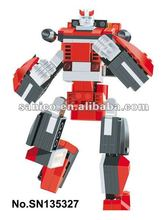 Educational Toy Top -DEFORMATION Robot Blocks