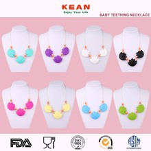 Baby Teething Necklace For Mom Wear 100% PBA FREE WIth FDA