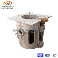 250kg high efficiency iron ore melting electric furnace