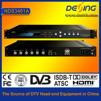 digital satellite TV head end system QPSK modulator