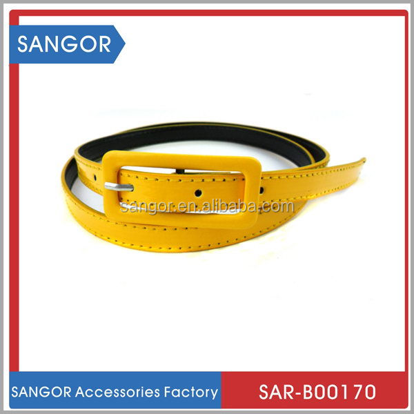 Branded attractive top grain leather belt wallet