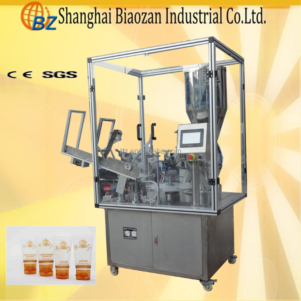 New Condition Automatic Plastic Tube Tail Sealing Filling Machine