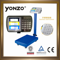 YZ-909 100kg to 500kg electronic digital platform small scale industries machines