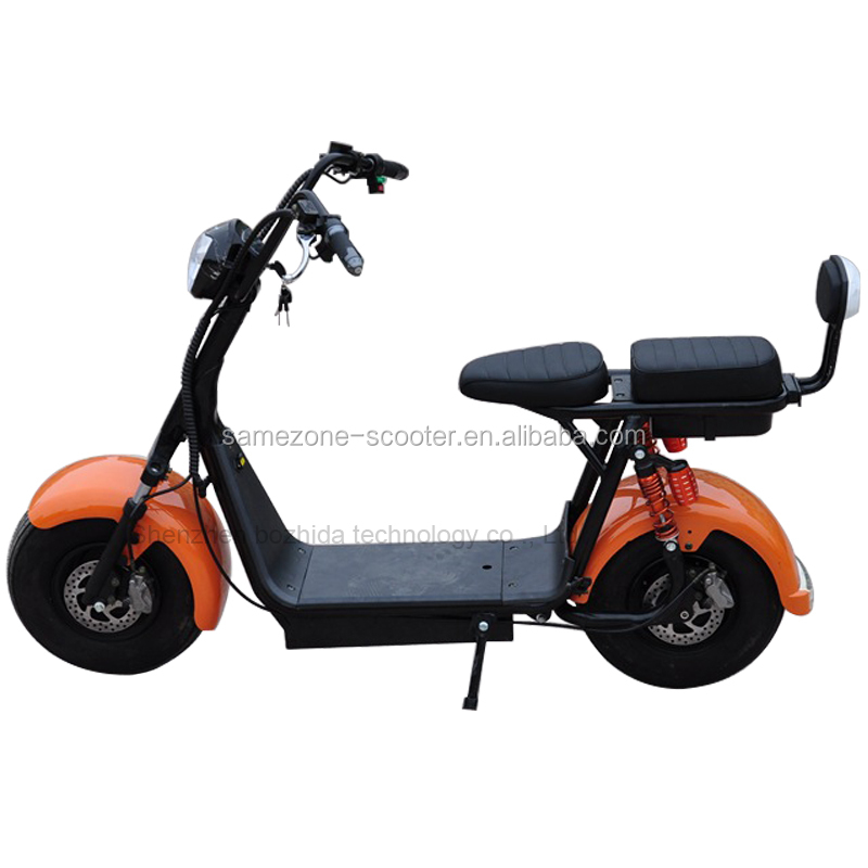 adults off road electric scooter citycoco powerful battery scooter sidecars woqu x1 electric roller scooter