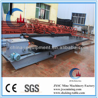wilfley gold shaking table for fine gold separation