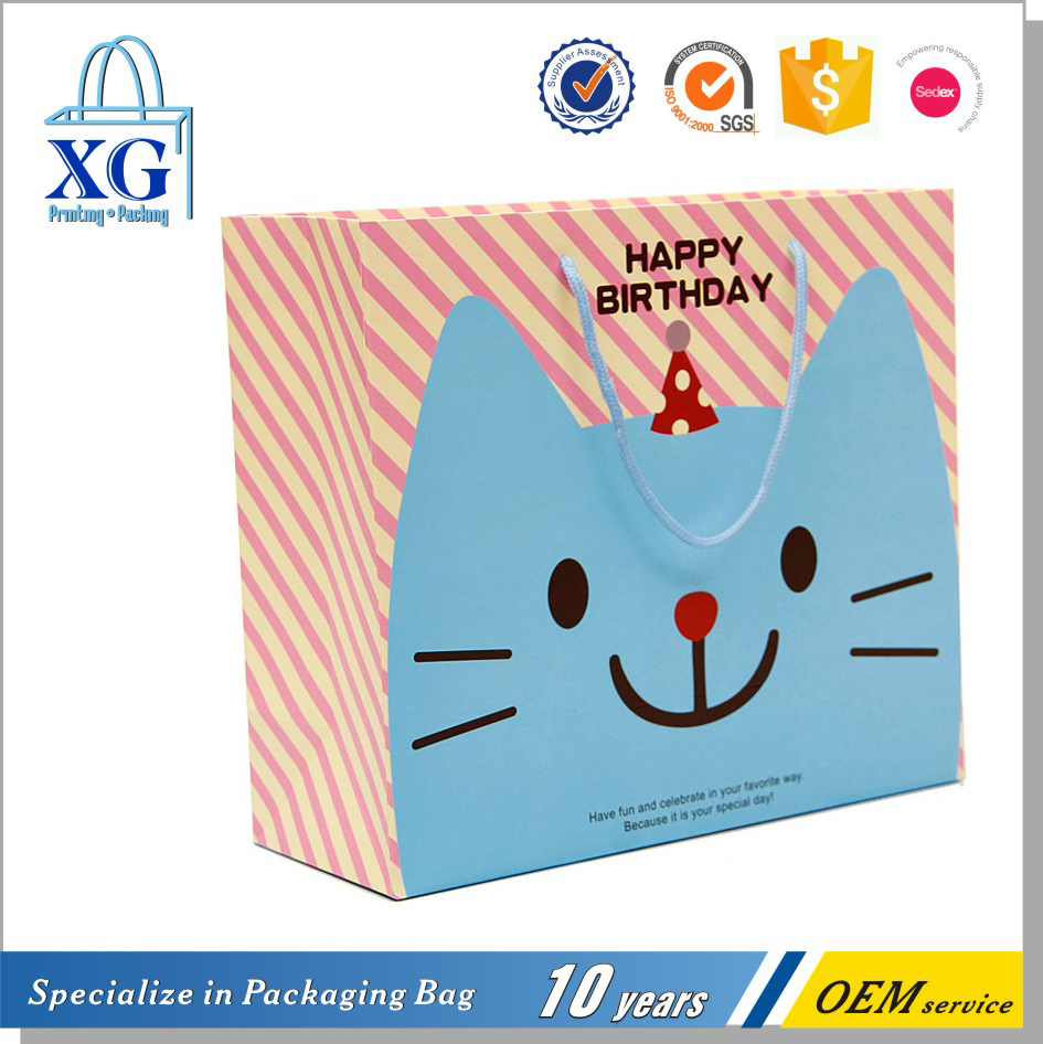 new design gift paper bag wholesales