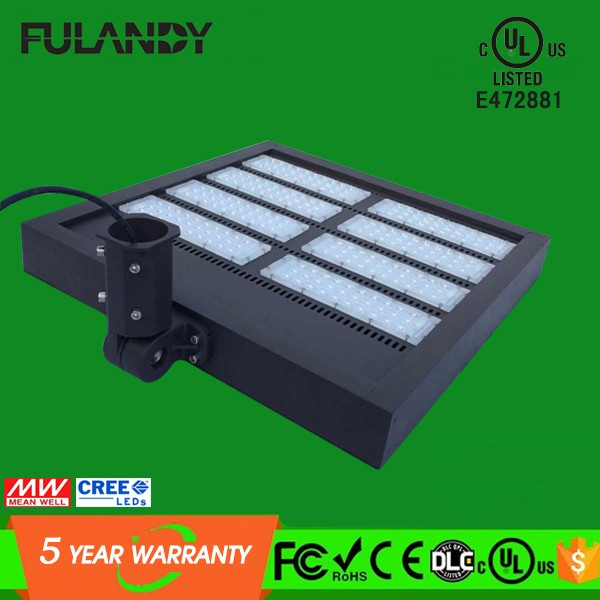 Compatible with square arm or round slip fitter 100W Project Lamp, 150W Canopy LED Lighting, 200W LED Shoebox Light