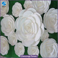 All Kinds Of High reflective white foam flowers giant for hot sale