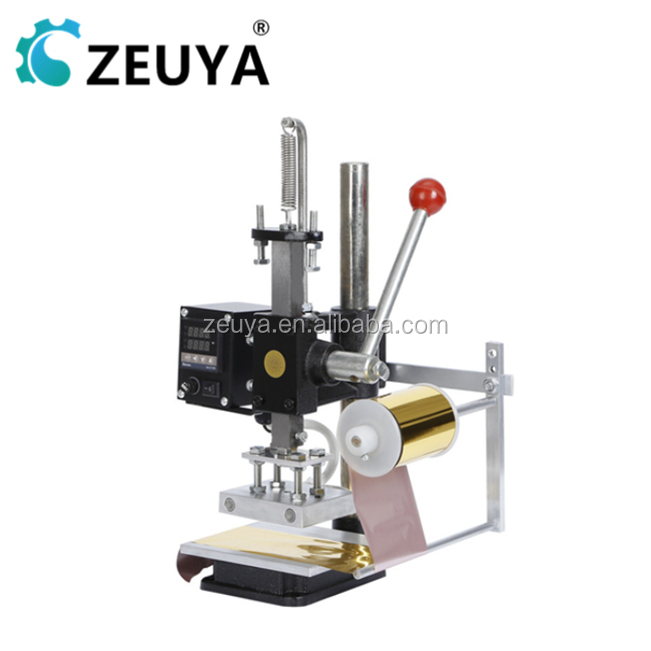High Speed Desktop leather embossed hot stamping machine With CE DDP-002