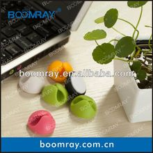 Cable Wire Holder or Fixer Cord Winder Electrical Wire Arrangement Laptop Stickers For At Home or In Office trefoil cable clamp