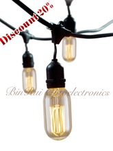 Lower Price T14/T45 Squirrel cage 110V-240V Amber Glass Color Vintage style Edison light bulb