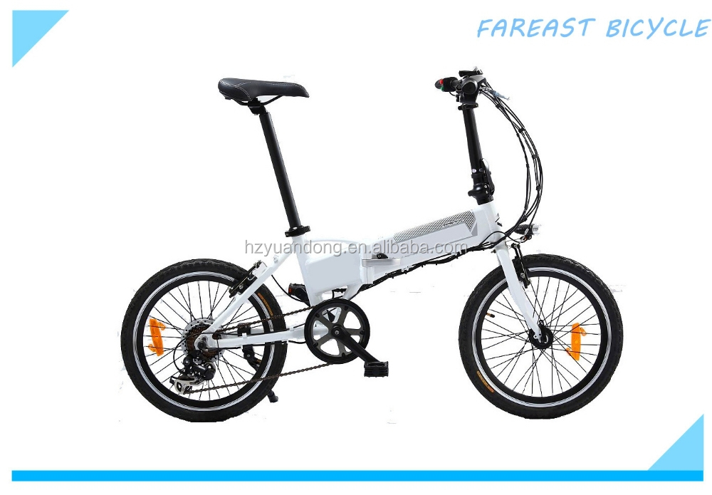 "36V 250W 20"" mini folding mountain electric bicycle bike for sale"