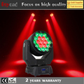 2017 hot sale 19*4in1 15w led wash zoom moving head stage lights for sale