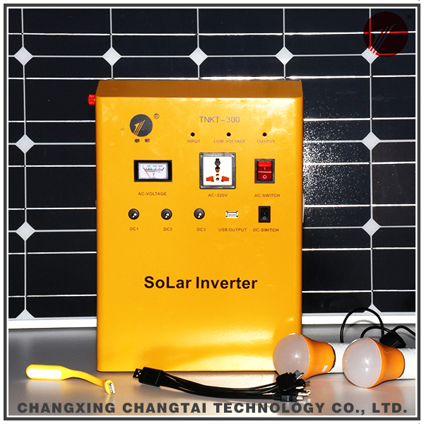 home using 500W ISO9001 solar power generator system