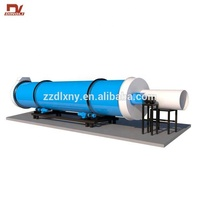China Sugar Cane Bagasse Rotary Drum Dryer for India Market