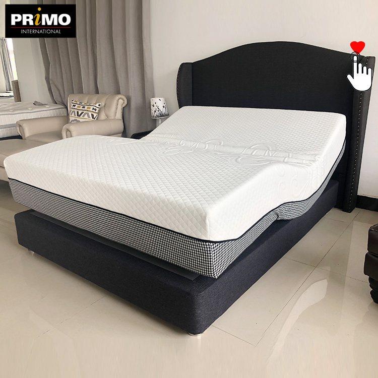 Any size supply dark grey comfortable memory foam bed mattress for wholesale - Jozy Mattress | Jozy.net