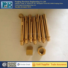 High precision cnc machining brass parts,cnc turning brass rod,auto parts