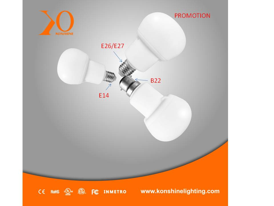LED Light Bulbs/Xiamen LED bulb 7W