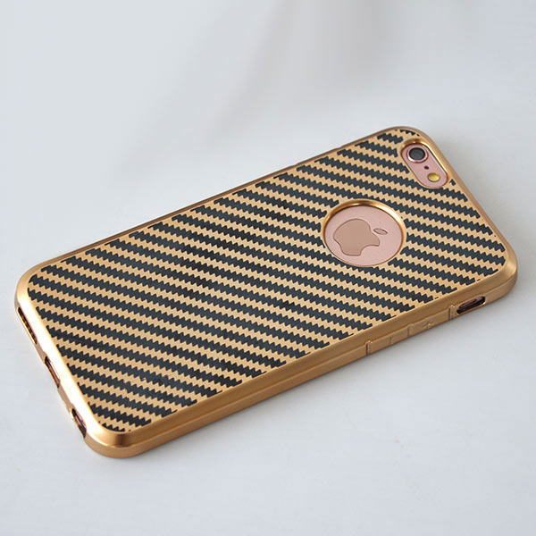 Hot selling TPU plating and print bling phone case for LG LS775