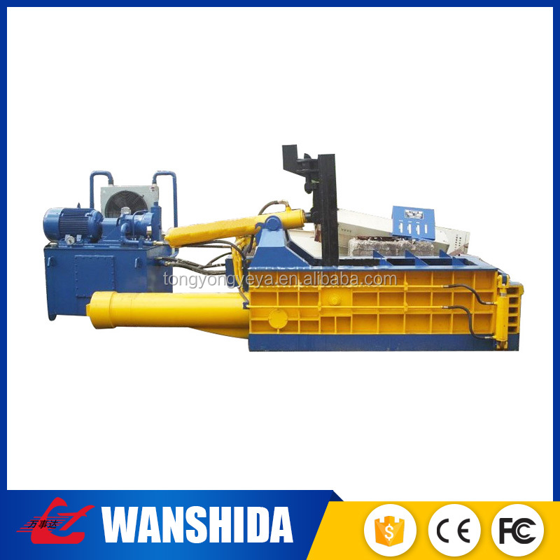 China leading supplier Factory Direct Sale waste iron hydraulic baling machine, scrap metal baler machine