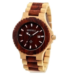 New Design Colours Wood Watch for Women and Men Wrist Quartz Watch