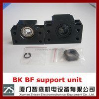 ZS machinery ball screw support unit BK10 BK12 for cnc machine