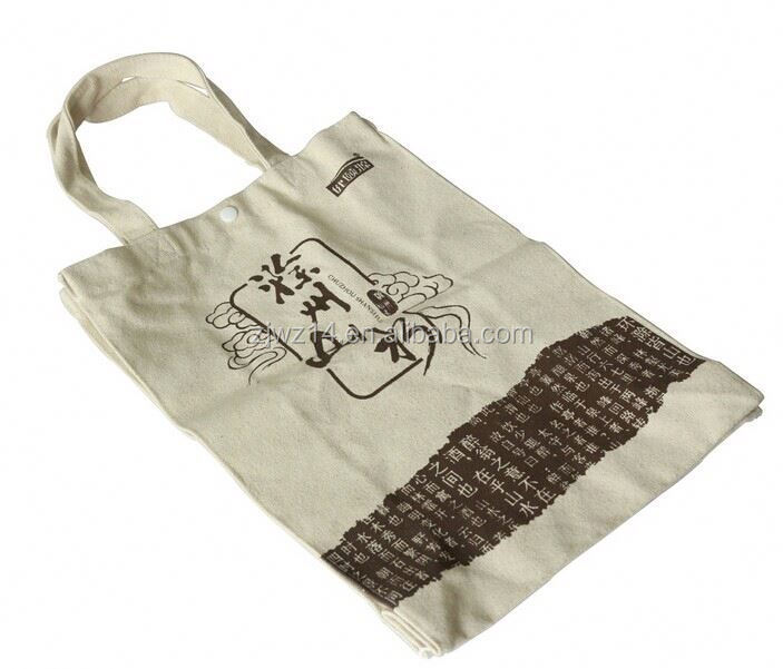 2015 cheap fashion cotton bags made from recycled materials
