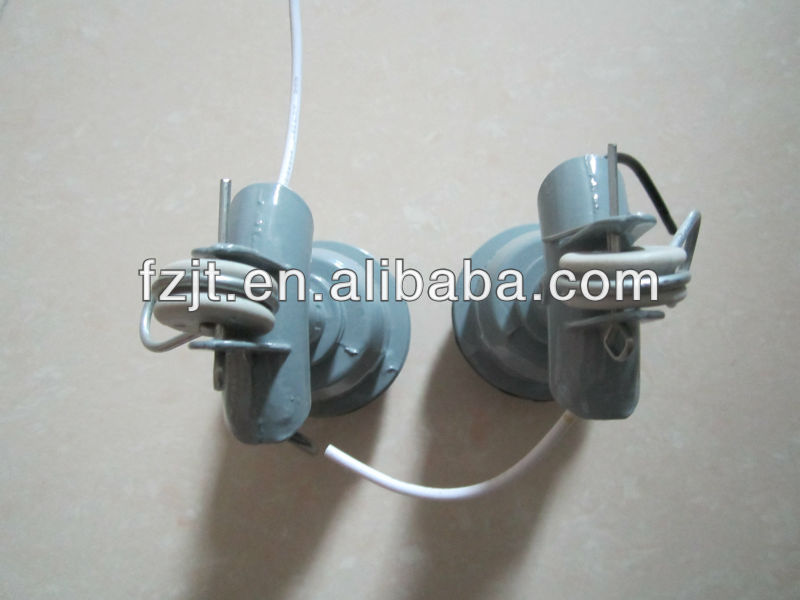E40 aluminum injection die casting screw base lamp socket