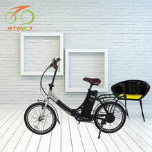 20 inch 36v electric bicycle for old people with 250w brushless hub motor made in china