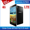 4G Lenovo mobile phone Lenovo S8 A7600 Android 5.0 MTK6752M Octa Core 2GB 8GB 5.5'' IPS 1280*720 13.0MP Camera 3000mah battery