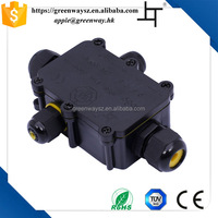 IP68 Plastic Outdoor Waterproof Enclosure Electrical Junction Box