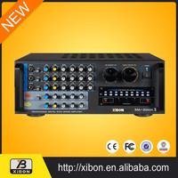 musical equipment 2000w power amplifier